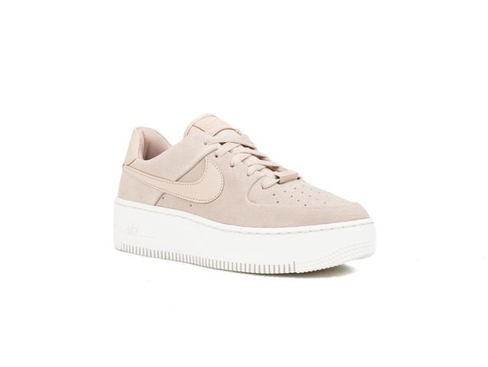 NIKE WMNS  AIR FORCE 1 SAGE LOW PARTICLE BEIGE-AR5339-201-img-3