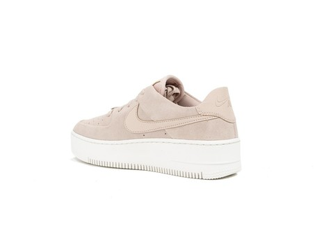 NIKE WMNS  AIR FORCE 1 SAGE LOW PARTICLE BEIGE-AR5339-201-img-5