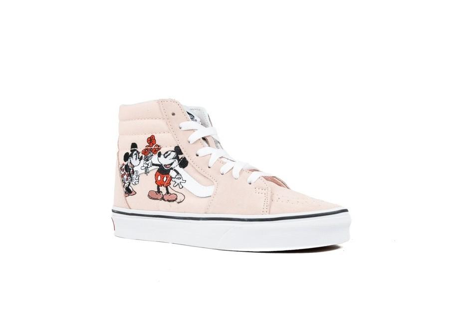 zapatillas vans mujer mickey