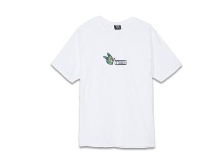 STUSSY BUTTERFLY TEE WHITE-1904258-WH-img-1