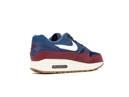 info for 414ca 791b5 ... NIKE AIR MAX 1 SHOE NAVY-SAIL-TEAM RED-SAIL-AH8145- ...