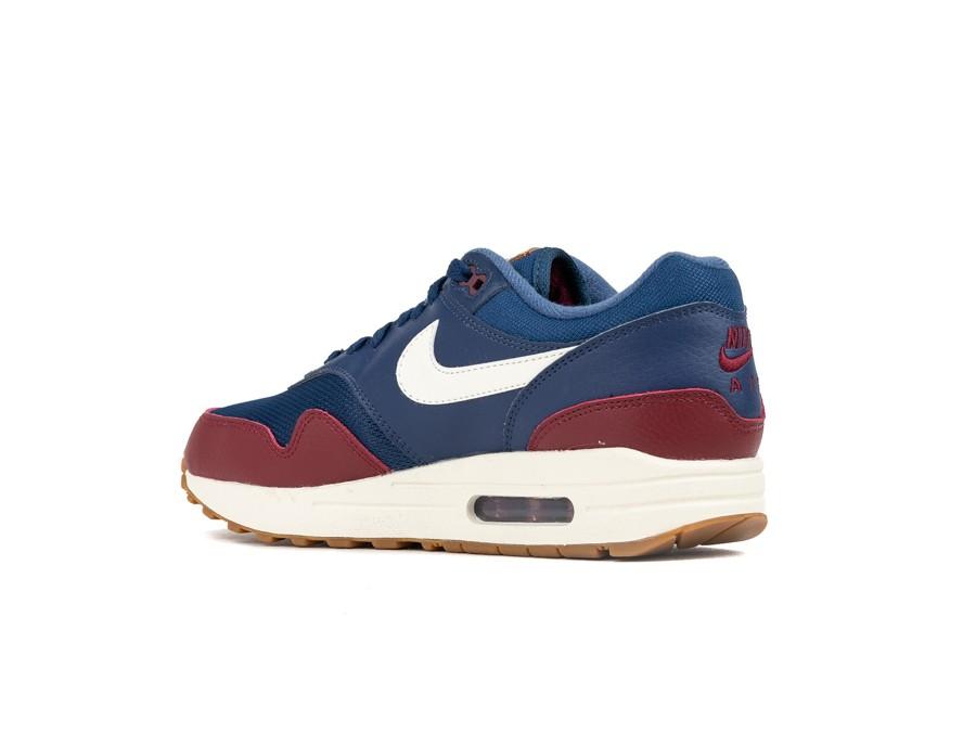 Nike Air Max 1 Navy Team Red Size 11 Ah8145 400 100% Au