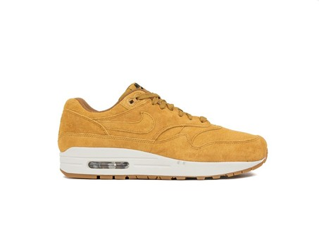 NIKE AIR MAX 1 PREMIUM SHOE WHEAT-WHEAT-LIGHT BONE-875844-701-img-1
