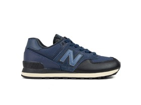 NEW BALANCE 574 CLASSIC NAVY BLACK (LHG)-ML574LHG-img-1
