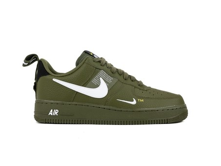 AIR FORCE 1 '07 LV8 UTILITY OLIVE CANVAS-WHITE-BLA-AJ7747-300-img-1