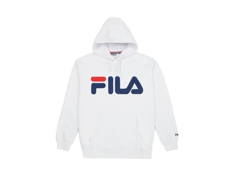 FILA HOODIE CLASSIC LOGO BRIGHT WHITE-681462-BR-img-1