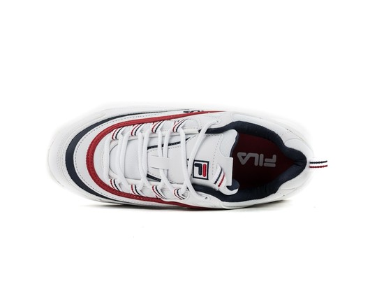 FILA RAY LOW WMN WHITE FILA NAVY RED-1010562-WH-img-6