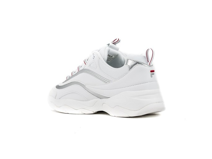 FILA RAY LOW WMN WHITE SILVER-1010562-SI-img-4