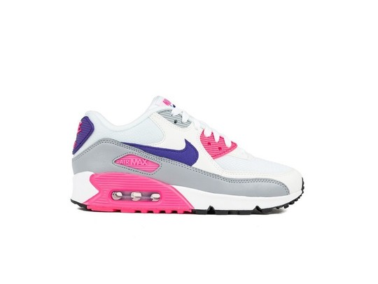 NIKE WOMEN S NIKE AIR MAX 90 WHITE-COURT PURPLE-WO-325213-136-img-1