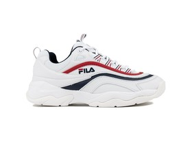 FILA RAY LOW WMN WHITE FILA NAVY RED-1010562-WH-img-1