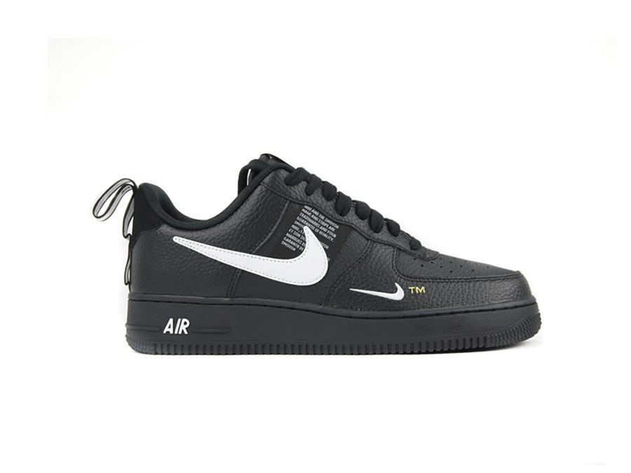 5f5c9dad6fb NIKE AIR FORCE 1  07 LV8 UTILITY BLACK-WHITE-BLACK