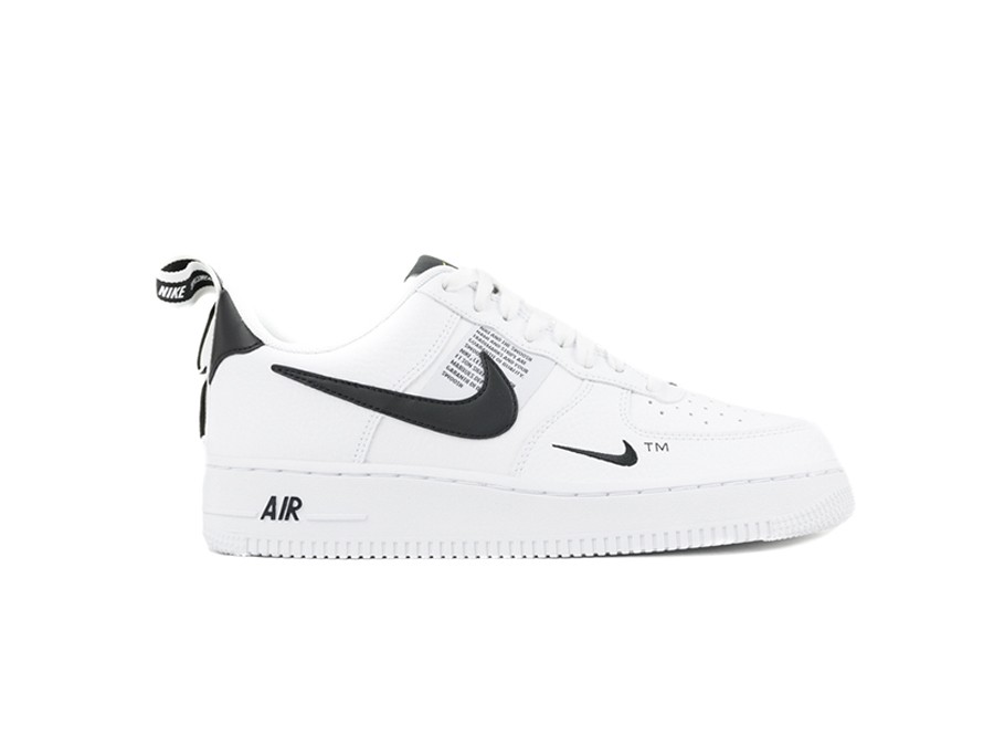 1 Nike Utility '07 Air Black Force Lv8 White 4AR5jL3