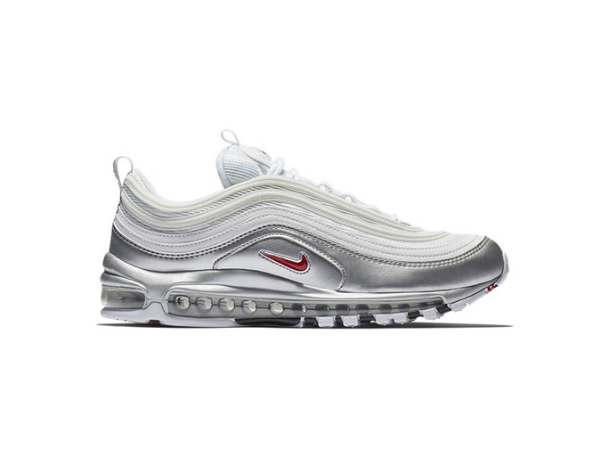 NIKE AIR MAX 97 QS WHITE-VARSITY RED-METALLIC SOLD-AT5458-100-img-1