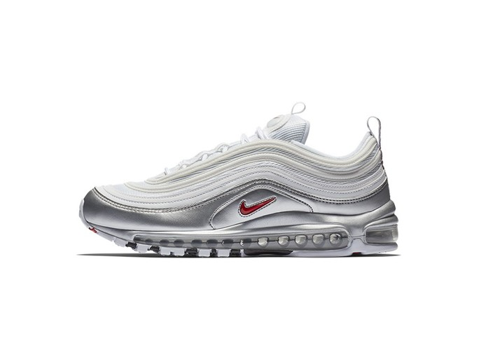 NIKE AIR MAX 97 QS WHITE-VARSITY RED-METALLIC SOLD-AT5458-100-img-2
