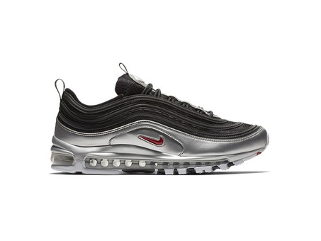 NIKE AIR MAX 97 QS BLACK-RED-METALLIC SILVER-AT5458-001-img-1
