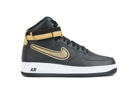 NIKE AIR FORCE 1 HIGH '07 LV8 SPORT BLACK-METALLIC-AV3938-001-img-2