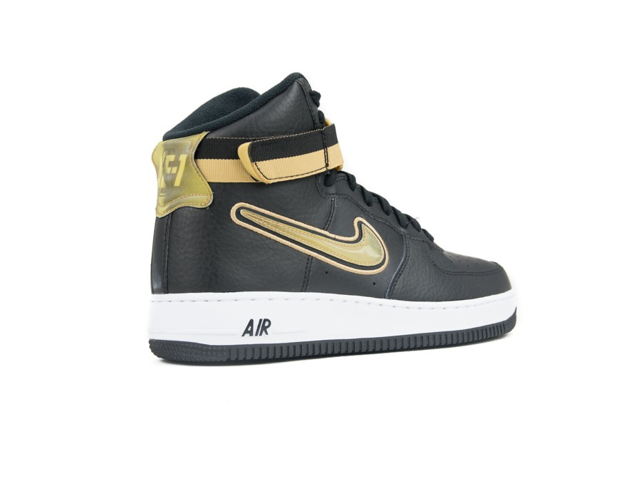 new concept f8f12 d6824 ... NIKE AIR FORCE 1 HIGH  07 LV8 SPORT BLACK-METALLIC-AV3938-001 ...