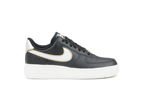 NIKE WMNS  AIR FORCE 1 '07 METALLIC BLACK-AR0642-002-img-1