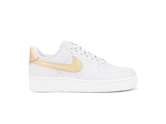 NIKE WMNS  AIR FORCE 1 '07 METALLIC VAST GREY-AR0642-001-img-1