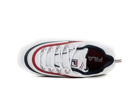 FILA RAY LOW WHITE NAVY RED-1010561-WH-img-4