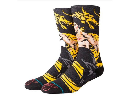 CALCETINES STANCE DRAGON-M545D18FRA-BLK-img-1