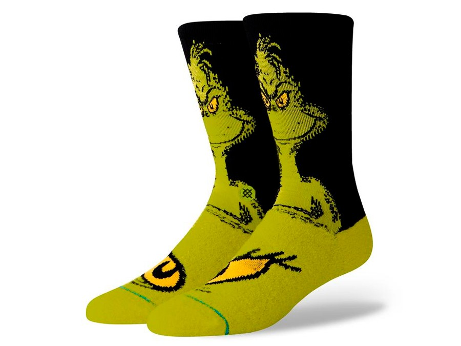 online retailer fc066 e1808 CALCETINES STANCE THE GRINCH-M545D18THG-GRN-img-1