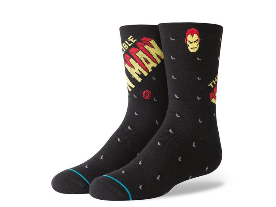 CALCETINES STANCE INVINCIBLE IRON MAN-M546D18INV-BLK-img-1