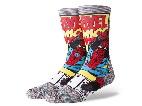 CALCETINES STANCE SPIDERMAN COMIC-M546D18SPI-GRY-img-1