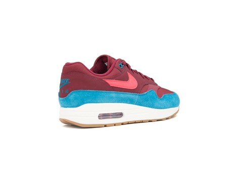 NIKE AIR MAX 1 SHOE TEAM RED-RED ORBIT-GREEN ABYSS-AH8145-601-img-3