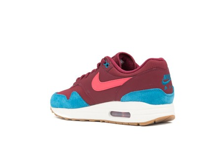 NIKE AIR MAX 1 SHOE TEAM RED-RED ORBIT-GREEN ABYSS-AH8145-601-img-4