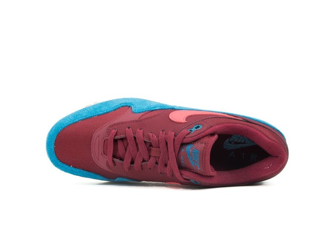 NIKE AIR MAX 1 SHOE TEAM RED-RED ORBIT-GREEN ABYSS-AH8145-601-img-6