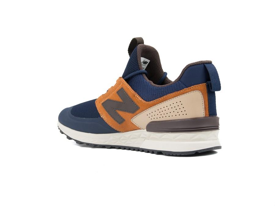 New Balance MS574DTX Sneaker Hombre Azul 44: Amazon.es