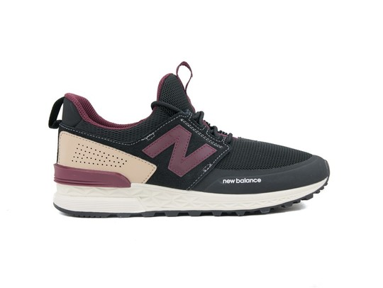 NEW BALANCE MS 574 SPORT BLACK (DTY)-MS574DTY-img-1