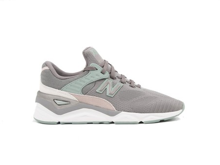 NEW BALANCE X-90 GREY GREEN WOMEN (PLF)-WSX90PLF-img-1