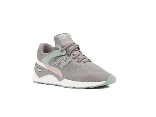 NEW BALANCE X-90 GREY GREEN WOMEN (PLF)-WSX90PLF-img-2