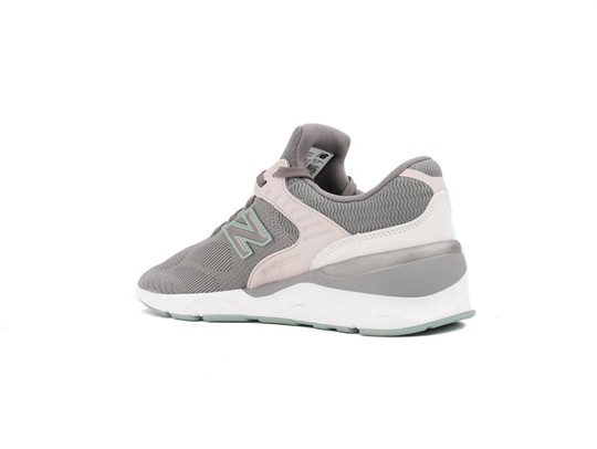 NEW BALANCE X-90 GREY GREEN WOMEN (PLF)-WSX90PLF-img-4