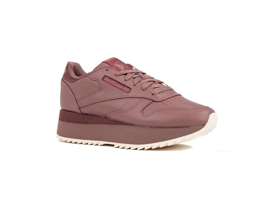 REEBOK CL LTHR DOUBLE PARCHED EARTH ROSE P-DV3627-img-2