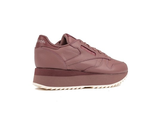 REEBOK CL LTHR DOUBLE PARCHED EARTH ROSE P-DV3627-img-3