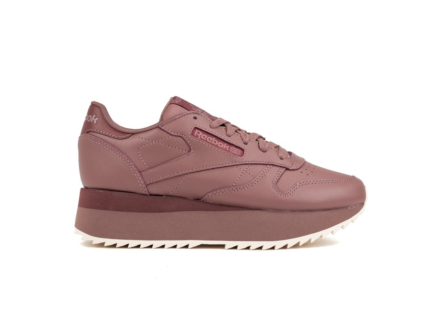 REEBOK CL LTHR DOUBLE PARCHED EARTH ROSE P-DV3627-img-1