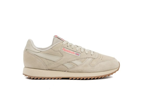 REEBOK CL LEATHER RIPPLE LIGHT SAND-DV3932-img-1