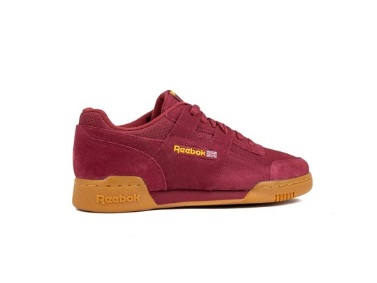 REEBOK WORKOUT PLUS SUEDE PERF GUM PACK RED SOLAR-DV4285-img-3