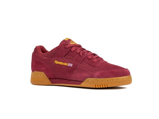 REEBOK WORKOUT PLUS SUEDE PERF GUM PACK RED SOLAR-DV4285-img-2