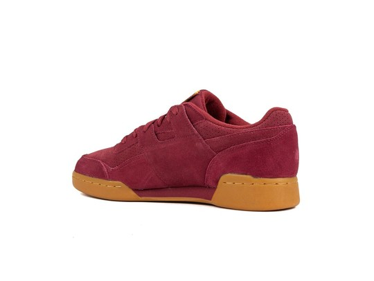 REEBOK WORKOUT PLUS SUEDE PERF GUM PACK RED SOLAR-DV4285-img-4