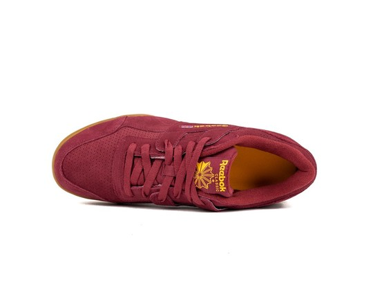 REEBOK WORKOUT PLUS SUEDE PERF GUM PACK RED SOLAR-DV4285-img-5