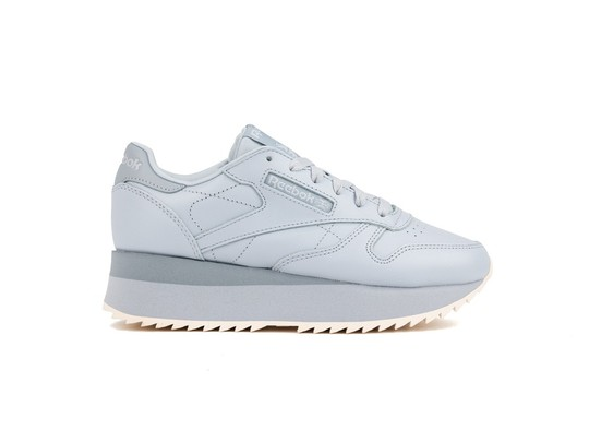 REEBOK CL LTHR DOUBLE COLD GREY COOL SHADO-DV3626-img-1