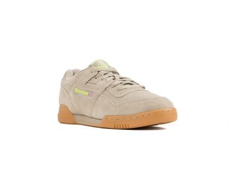 REEBOK WORKOUT PLUS SUEDE PERF GUM PACK SAND-DV4286-img-2