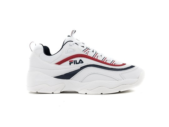 FILA RAY LOW WHITE ELECTRIC BLUE BLACK-1010561-EL-img-1