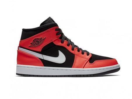 AIR JORDAN 1 MID BLACK INFRARED 23-WHITE-554724-061-img-2
