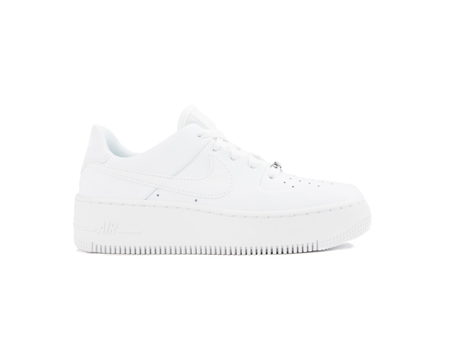 NIKE WMNS  AIR FORCE 1 SAGE LOW WHITE-AR5339-100-img-1