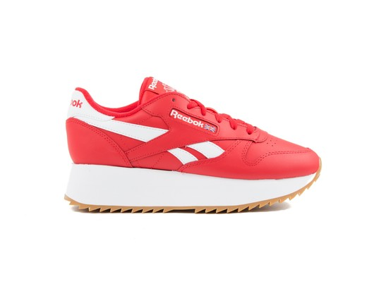 REEBOK CL LTHR DOUBLE PRIMAL RED WHT COBAL-DV3632-img-1
